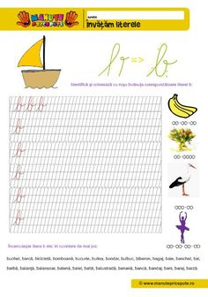 B Archives - Manute Pricepute Homework Sheet, Cursive Letters, Learning Letters, Stories For Kids, 4 Kids, Creative Kids, Preschool Activities, Bookmarks, Teaching