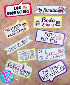Letreros para boda!! #letrerospersonalizados #bodas https://www.facebook.com/reventonaccesorios