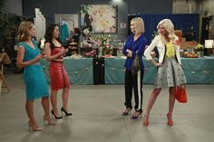"""S1 Ep7 """"Passing the Torch"""" - Becca Tobin as (Kimmee), Charlet Chung as (Tika), Charlie and Holly"""
