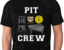 "Marching Band Shirt ""Pit Crew"""
