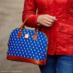 Dooney and Bourke | MLB Dodgers Zip Zip Satchel.