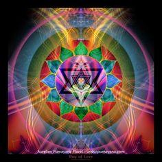 4th C  Ray of Love - Mandalas