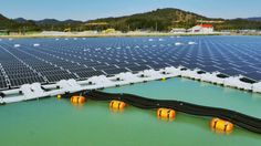 Construction has been completed on two enormous floating solar power plants located in the Nishihira Pond and Higashihira Pond in Kato City, Japan. According to The Kyocera Corporation and the Century Tokyo Leasing Corporation, who partnered up to build the instillations, the combined output of the solar plants will be around 3,300 megawatt hours (MWh) per year, and provide electricity to an estimated 920 households. - gizmag.com