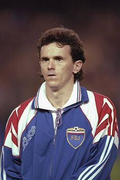 A portrait of Brnovic of Yugoslavia taken before the start of the world cup qualifier against Spain in Valencia, Spain. Mandatory Credit: Ben Radford/Allsport Get premium, high resolution news photos at Getty Images Stock Pictures, Stock Photos, Taken Before, World Cup Qualifiers, Football Photos, Valencia Spain, Still Image, Image Collection, All About Time