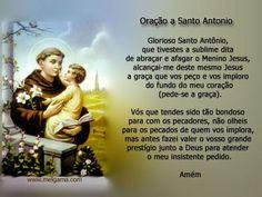 oração de santo Antonio -