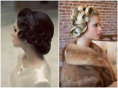 Vintage Bridal Hairstyles With A Modern Twist - Want That Wedding ~ A UK Wedding Inspiration & Wedding Ideas Blog - Want That Wedding