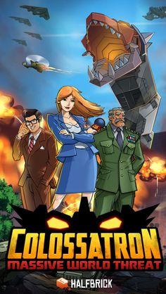 Colossatron: Massive World Threat là tựa game hành động với cốt truyện mới lạ, trong đó người chơi sẽ vào vai kẻ ác đến trái đất với mục đích duy nhất là hủy diệt!