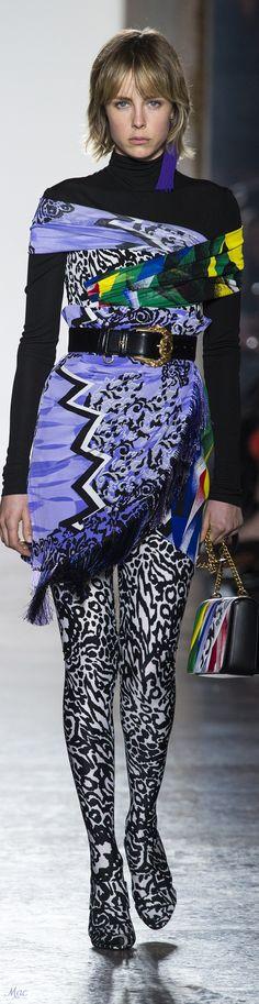 Fall 2018 RTW Versace
