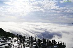 Hoshino Resort Tomamu, Hokkaido, Japan - up in the clouds!
