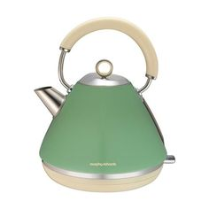 Morphy Richards 102011 Accents Pyramid Kettle - Sage Green
