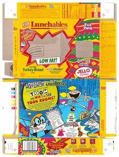 Lunchables | 1997 Oscar Mayer Lunchables Box Dexter's Laboratory - a photo on ...