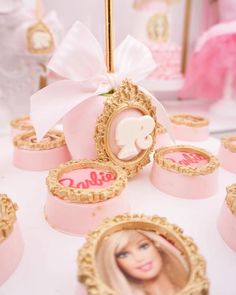 Chocolate covered Barbie Oreos from a Pink Glam Barbie Birthday Party on Kara's Party Ideas | KarasPartyIdeas.com (6)