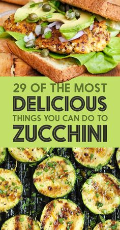 29 Of The Most Delicious Things You Can Do To Zucchini. Zucchini never tasted so good! Easy recipes featuring baked, grilled, sautéed and even a zucchini soup. Mouthwatering zucchini recipes for breakfast, lunch, dinner and even dessert! Healthy Recipes, Veggie Recipes, Healthy Snacks, Vegetarian Recipes, Healthy Eating, Cooking Recipes, Low Carb Zuchinni Recipes, Easy Recipes, Vegetarian Tapas