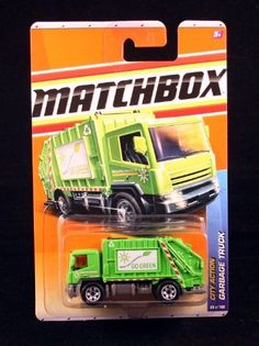 GARBAGE TRUCK * GREEN * City Action Series (#7 of 14) MATCHBOX 2011 Basic Die-Cast Vehicle (#66 of 100) by Mattel. $19.99. GARBAGE TRUCK * GREEN * City Action Series (#7 of 14) MATCHBOX 2011 Basic Die-Cast Vehicle (#66 of 100). From Mattel. Vehicle measures approximately 3 inches long.. Ages 3 and up.. The ball is dropping. 3-2-1...HAPPY NEW YEAR! The fireworks explode, the confetti rains down as Times Square erupts in a giant celebration! As this party ends, the...