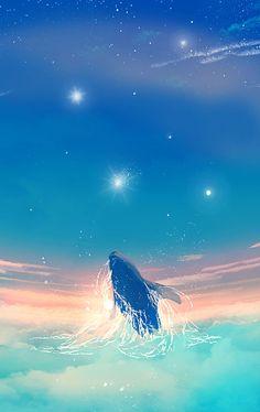고래는 매일 밤 하늘을 나는 꿈을 꾸었습니다. 135/365