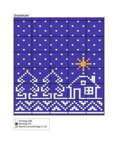 Dagens gratisoppskrift: Advents-grytekluter | Strikkeoppskrift.com Christmas Yarn, Nordic Christmas, Christmas Knitting, Knitting Charts, Knitting Patterns Free, Crochet Potholders, Chart Design, Crochet Home, Double Knitting