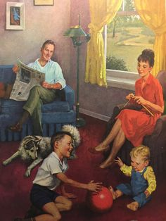 🌟Tante S!fr@ loves this📌🌟Vintage books for kids Vintage Pictures from Bedtime Stories By Uncle Maxwell Arthur Volume 18 Vintage Books, Vintage Posters, Vintage Art, Vintage Pictures, Vintage Images, Family Illustration, Illustration Art, Vintage Housewife, Arte Country