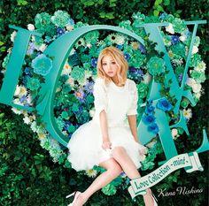 西野カナ「Love Collection ~mint~」通常盤ジャケット