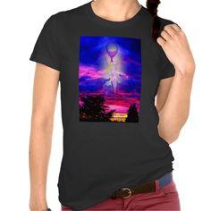 Engel Himmelfahrt Licht und Energie Tshirt