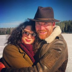Happy Christmas from Donal and Caitriona!! @caitrionabalfe