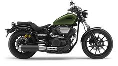 Yamaha XV 950 R green