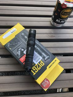 1200 Lumens Nitecore MH40GTR Long Throw Rechargeable Flashlight 1004m Throw w//4x Free Eco-Sensa CR123A Batteries