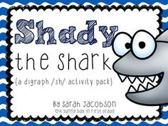 Shady the Shark is sure to help your kiddos learn the digraph /sh/!!Inside you will find:*Shady the Shark poster*8 page Shady the Shark mini book (2 options for printing)*/sh/ matching center*/sh/ sorting center*game board with sh words (color and b&w)*read, write, & color*fill in the missing word sentences*read & roll*color and write sentences*2 sentence builder pages*Shady the Shark craft!!!