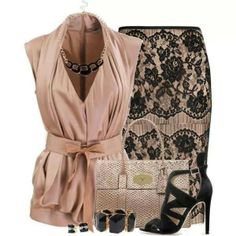 80 Elegant Work Outfit Ideas in 2017 - Are you looking for catchy and elegant work outfits? We all know that there are several factors which control us when we decide to choose something to. Stylish Work Outfits, Classy Outfits, Chic Outfits, Fashion Outfits, Summer Outfits, Classy Casual, Skirt Outfits, Vintage Outfits, Vintage Shoes