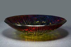 Black Mandala Bowl