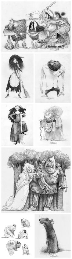 Characters design by Carter Goodrich ✤ || CHARACTER DESIGN REFERENCES | キャラクターデザイン • Find more at https://www.facebook.com/CharacterDesignReferences if you're looking for: #lineart #art #character #design #illustration #expressions #best #animation #drawing #archive #library #reference #anatomy #traditional #sketch #development #artist #pose #settei #gestures #how #to #tutorial #comics #conceptart #modelsheet #cartoon || ✤