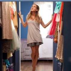 """""""I like my money right where I can see it, hanging in my closet""""- Carrie Bradshaw"""