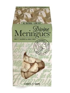 'Key Lime Coconut Meringue Cookies' 2oz - Only 7 Calories Each! ** Quickly view this special product, click the image : Fresh Groceries