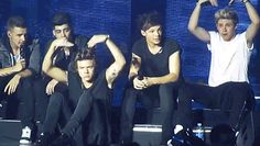 When the boys engaged in some synchronized dancing: | 29 Times One Direction Were Just Straight Up Trolling Us