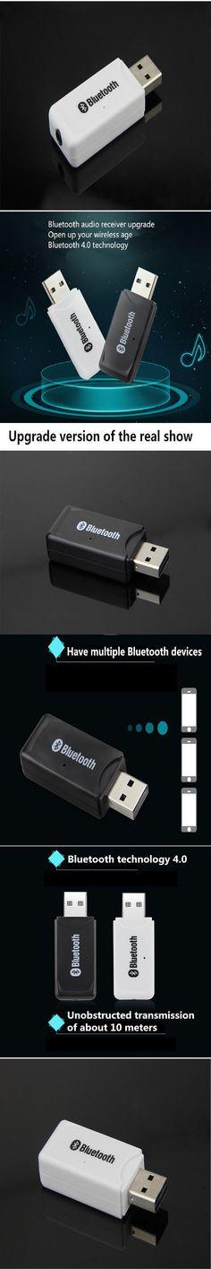 Bluetooth Audio Receiver Bluetooth Stick USB Car Adapter Wireless Bluetooth Receiver Audio Converter