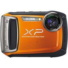 Fujifilm XP100 Orange Fujifilm FinePix XP100 Digital Camera (Orange)