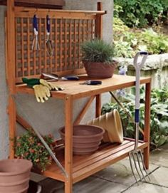 images about planting tables on pinterest potting benches table