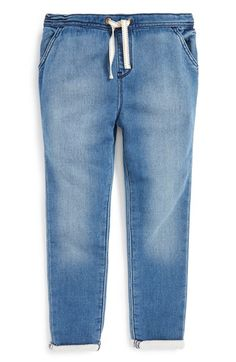 Tucker + Tate Denim Knit Pants (Toddler Girls, Little Girls & Big Girls) available at #Nordstrom