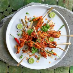 Harissa chicken skewers. Harissa is a Maghrebi hot chili pepper paste, the main ingredients of which are roasted red peppers, Baklouti pepper, serrano peppers, and other hot chili peppers, spices and herbs such as garlic paste, coriander seeds, saffron, rose, or caraway, as well as some vegetables.