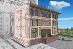 wizualizacja Home Fashion, Mansions, House Styles, Home Decor, Decoration Home, Manor Houses, Room Decor, Villas, Mansion