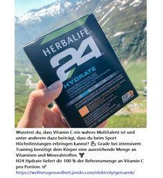 Herbalife, Vitamin C, Intensives Training, Fitness, Water Bottle, Sport, Drinks, Drink, Metabolism