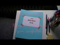 [ Glücksstatistik Juni 2017 ] Journal für mehr Glück | Happiness Buch Vorlage zum gratis Download um dein Glück im juni 2017 festzuhalten und auf zu schreiben | kostenlos herunterladen | free printable für Scrapbook und dein Journal | happy and the city