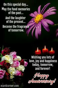 Thoughtful anniversary wishes