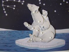 For the kid who knows all the constellations: a DIY Ursa Major paper doll set.