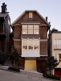 Cow Hollow Residence by Dijeau Poage Construction | Traditional front and stunning contemporary interior