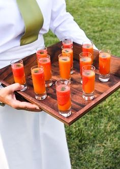 Interesting Cocktails! Photo by Suzy Clement on Snippet and Ink #wedding #weddingfood