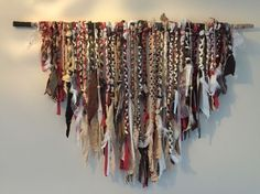 Large Natural Colours Wall Hanging, Ethnic,Hippy Boho-brown Cream Coral | eBay