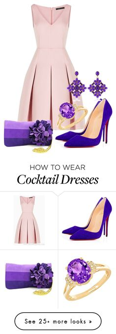 """""""Untitled #1"""" by diana-panush on Polyvore featuring BCBGMAXAZRIA, Lord & Taylor and Shiraleah"""
