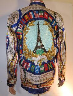 Fifa Futbol-Soccer World Cup France 98 Silk Shirt - georgetowncowboyboots
