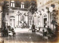 1900's Buenos Aires, Interior de la Casa Rosada, hall central, principios del siglo XX