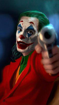 Joker With Gun IPhone Wallpaper - IPhone Wallpapers